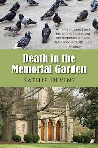 Death in the Memorial Garden by Kathie Deviny